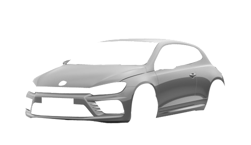 Цвета кузова Scirocco R